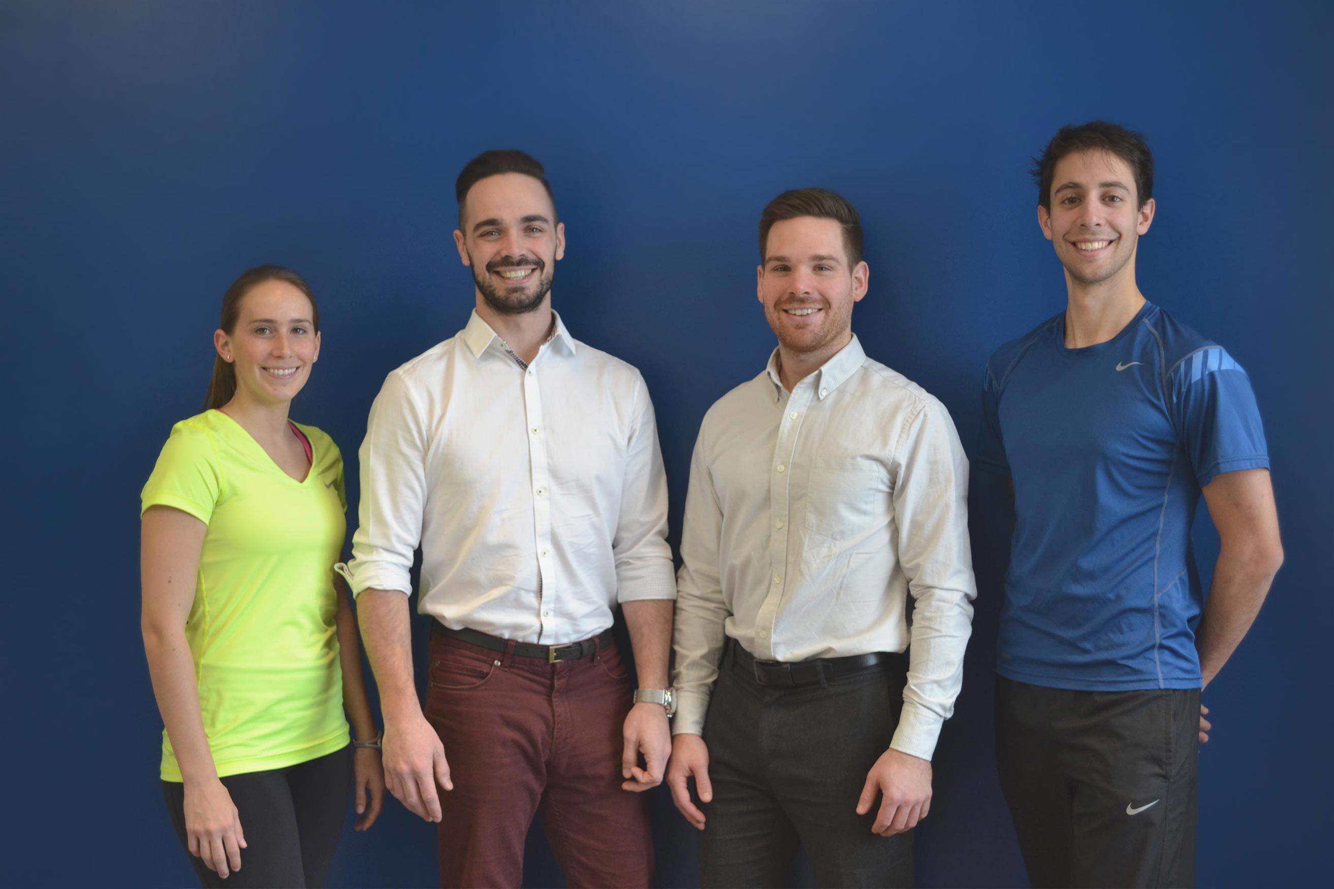 L'équipe de la clinique chiropratique Laurea à Blainville